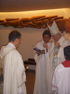 Consegna del Crocifisso, Messa a S. Maria degli Angeli, 3-9-2012