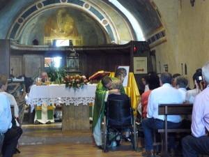 Consegna della Lettera a Santina, Messa a S. Damiano, 4-9-2012