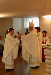 Consegna del Vangelo, Messa S. Maria degli Angeli, 3-9-2012