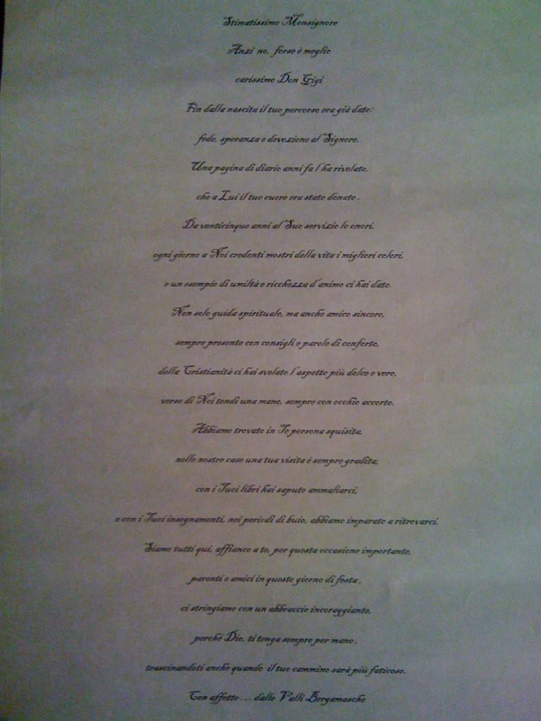 poesia di Giuditta su Facebook