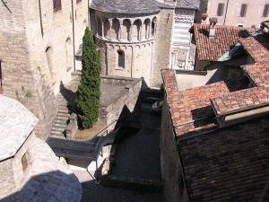La vista da casa della Basilica di S. Maria Maggiore