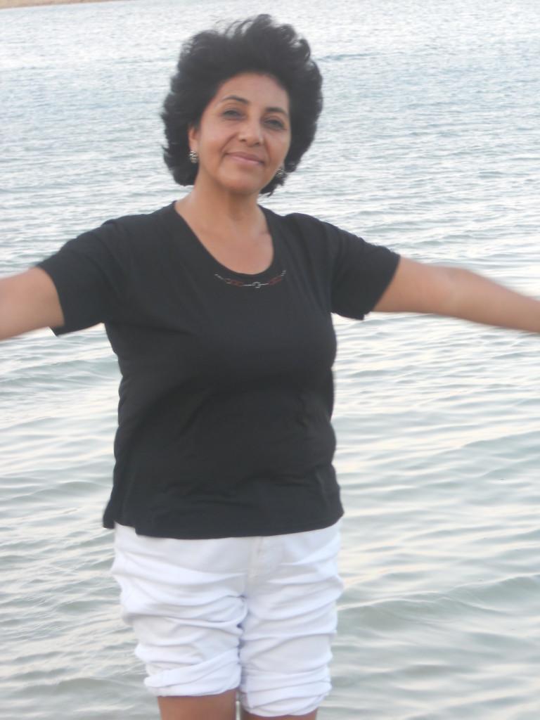 Giungiamo al Mar Morto il 26 Giugno sera con 41 gradi