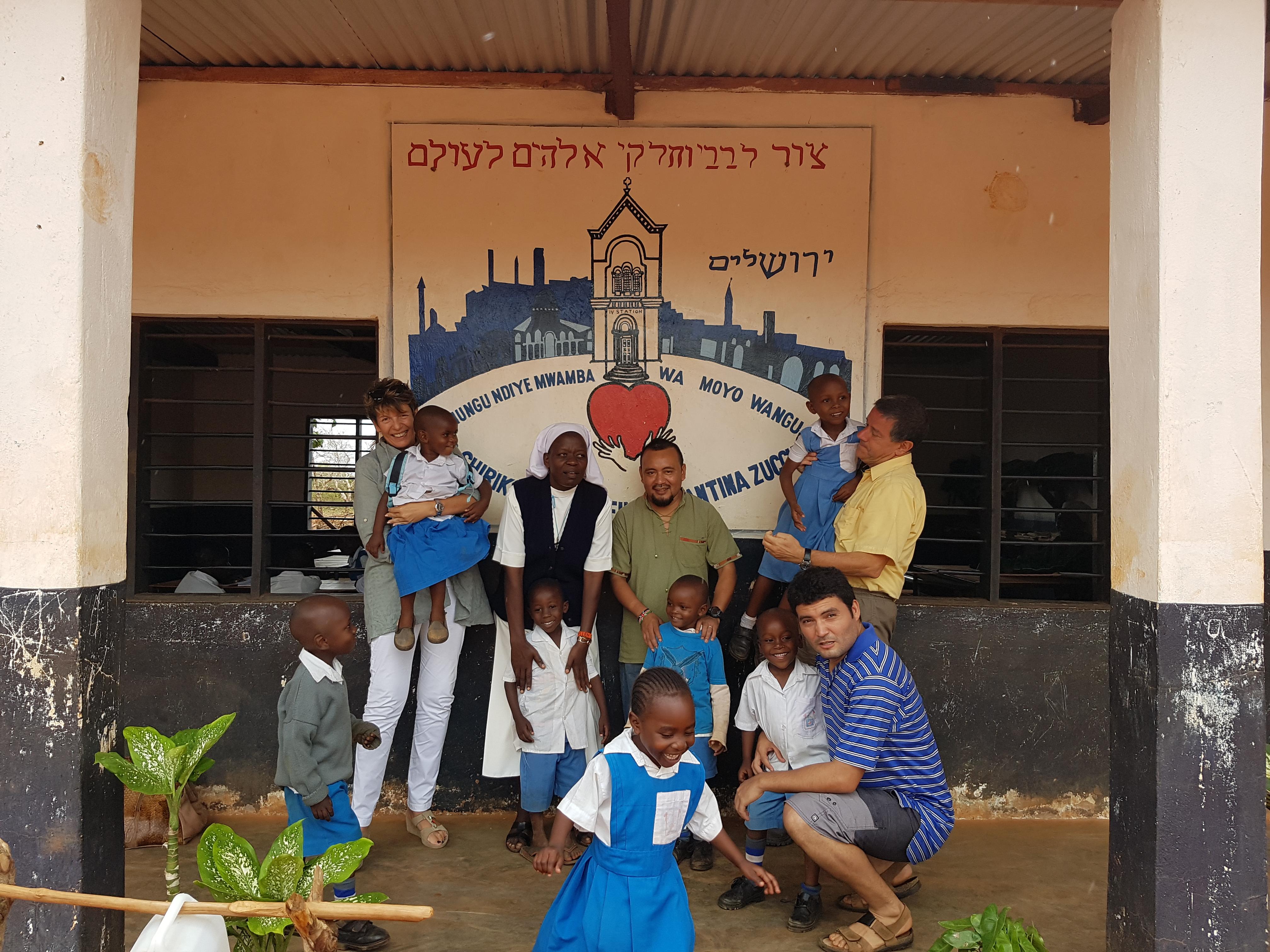 terza aula scolastica in Kenya