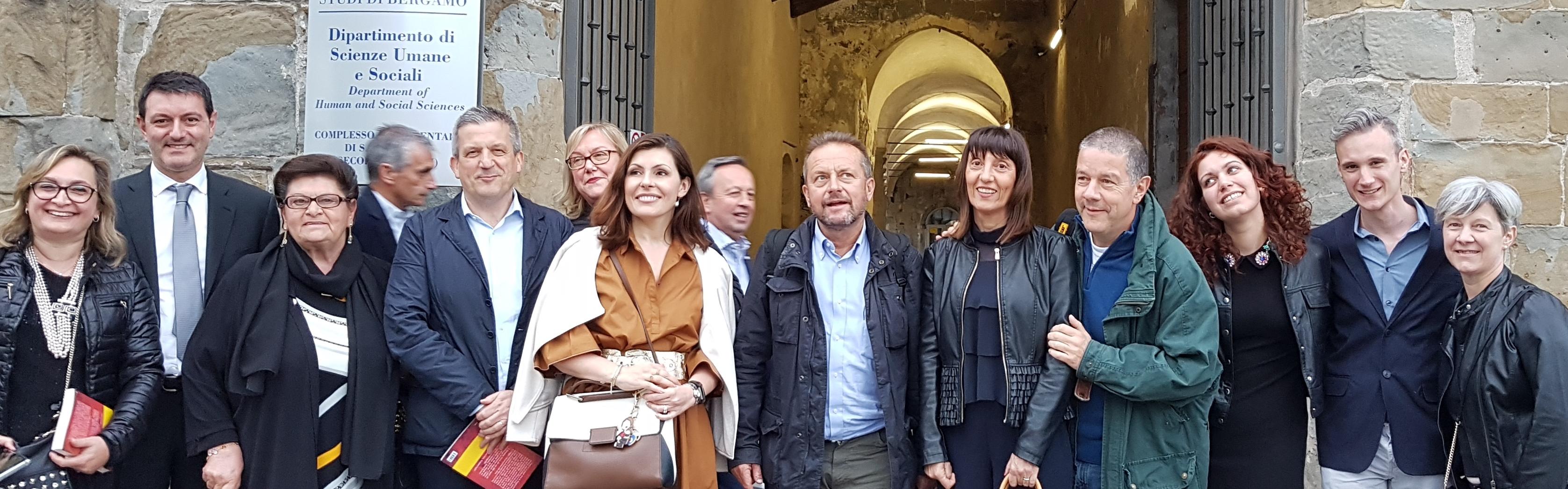 DOVE I CRISTIANI MUOIONO  il Libro all'università di Bergamo